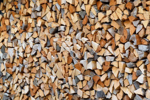 firewood stacking