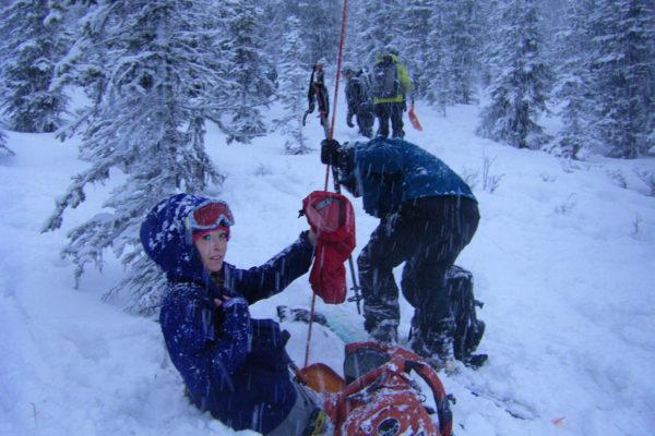 AIARE women's avalanche level 1 course