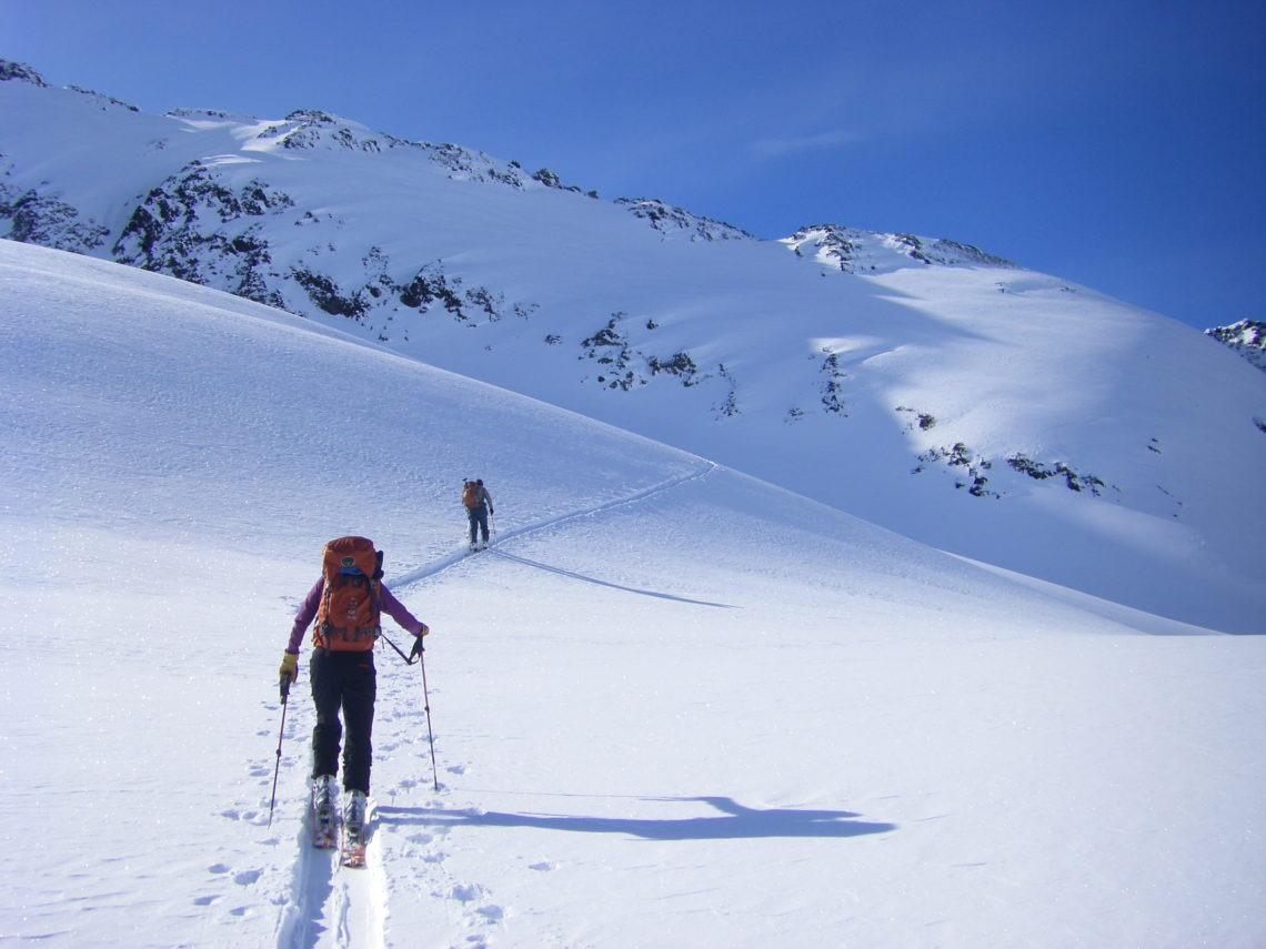 Alaska Backcountry Skiing at Pastoral Peak
