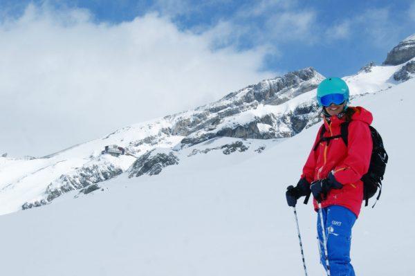 Petra Hurshcler - Graphic Designer & skier