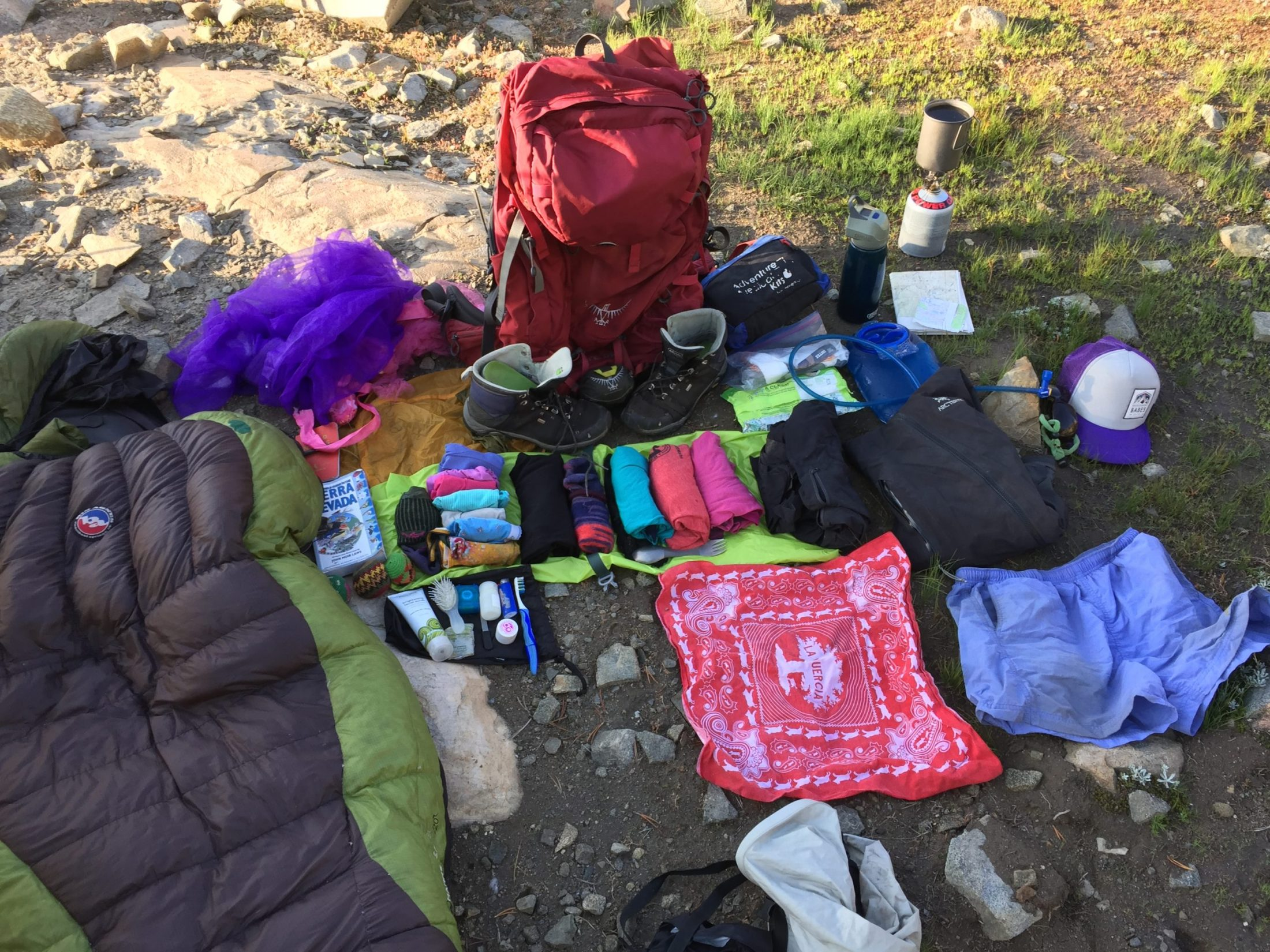 Backpacking Packing List For Women