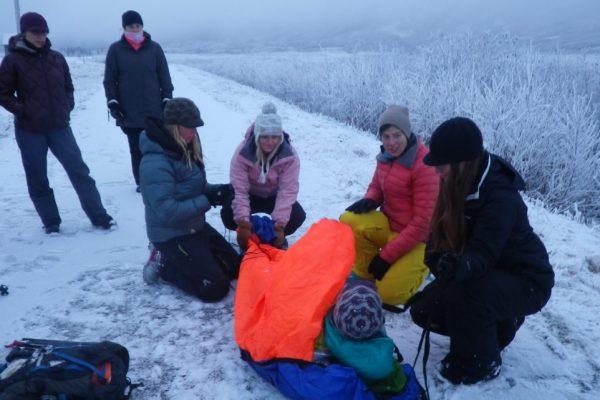 rescue sled demo