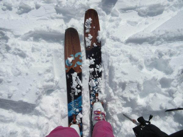 G3 Empress custom Backcountry Babes skis. Awesome