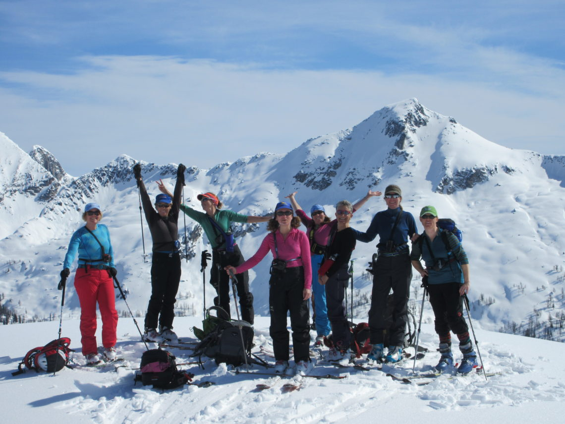 47d3b0620 Women's Backcountry skiing trips & packing colorado - Hut Trips