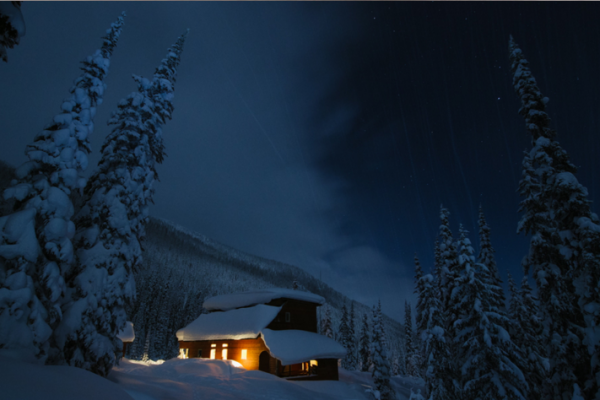 cozy lodge powder snow british columbia canadian rockies ski canada valhalla mountain touring backcountry women