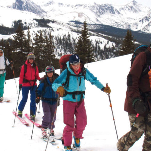 Beginner Backcountry Ski & Splitboard Tour – Breckenridge/Vail CO