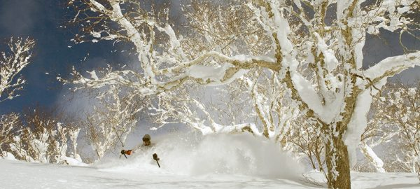 Backcountry Skiing in Japan at Ryounkaku Lodge, Daisetsuzan National Park, Hokkaido, Japan with Ross Matlock,