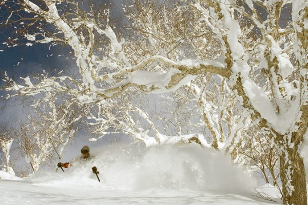 Backcountry Skiing in Japan at Ryounkaku Lodge, Daisetsuzan National Park, Hokkaido, Japan with Ross Matlock,