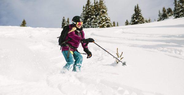Amy Backcountry Skiing Colorado