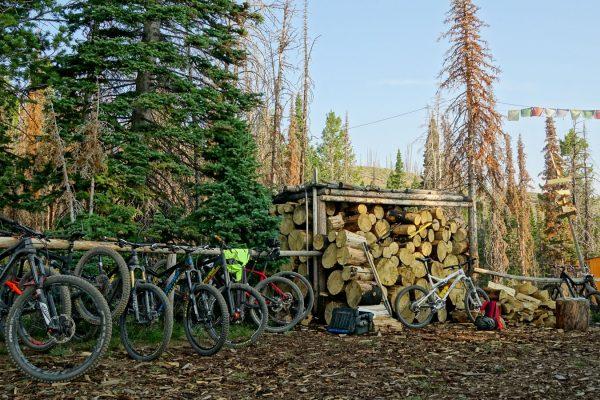 Coyote Yurt- Bikes