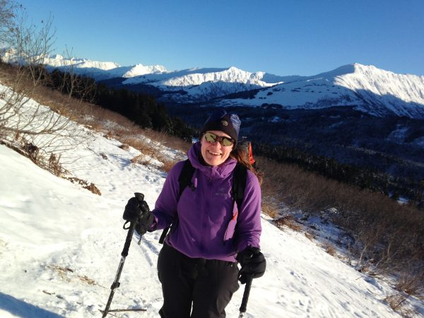 guided backcountry ski trips for women near anchorage