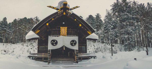 shinto shrine in japan