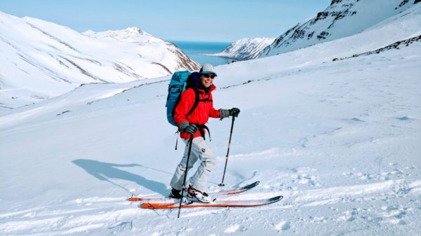 guided backcountry ski iceland with Backcountry Babes this spring