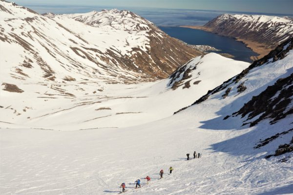 backcountry ski iceland guided ski tour 7