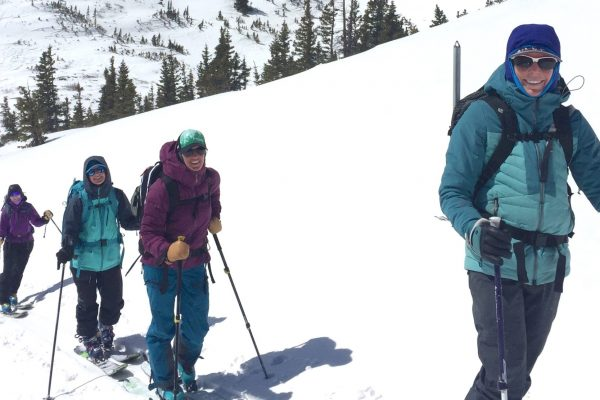 how to use ice axe and ski crampons in Colorado