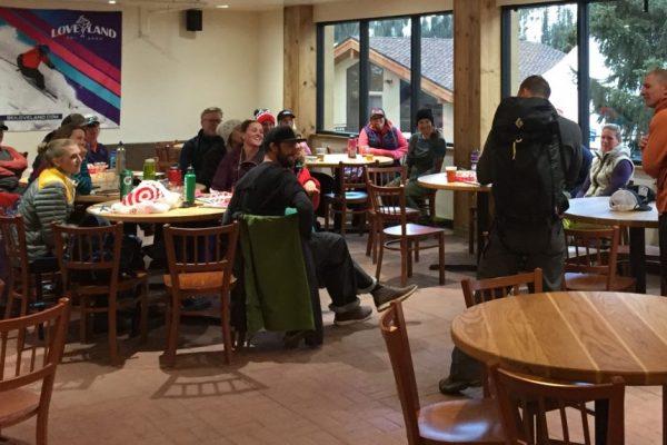 aiare avalanche course inside at loveland, colorado