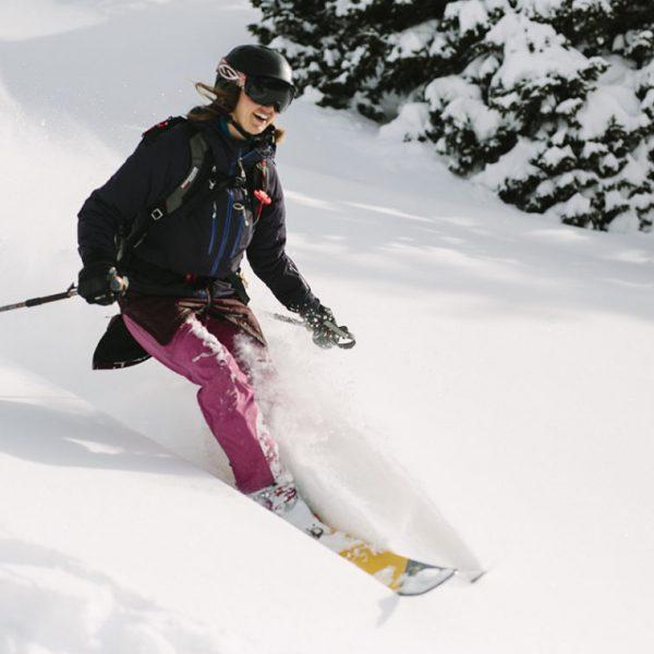 backcountry skiing colorado powder