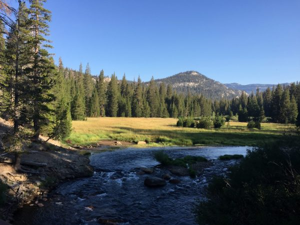 backpacking in Northern California