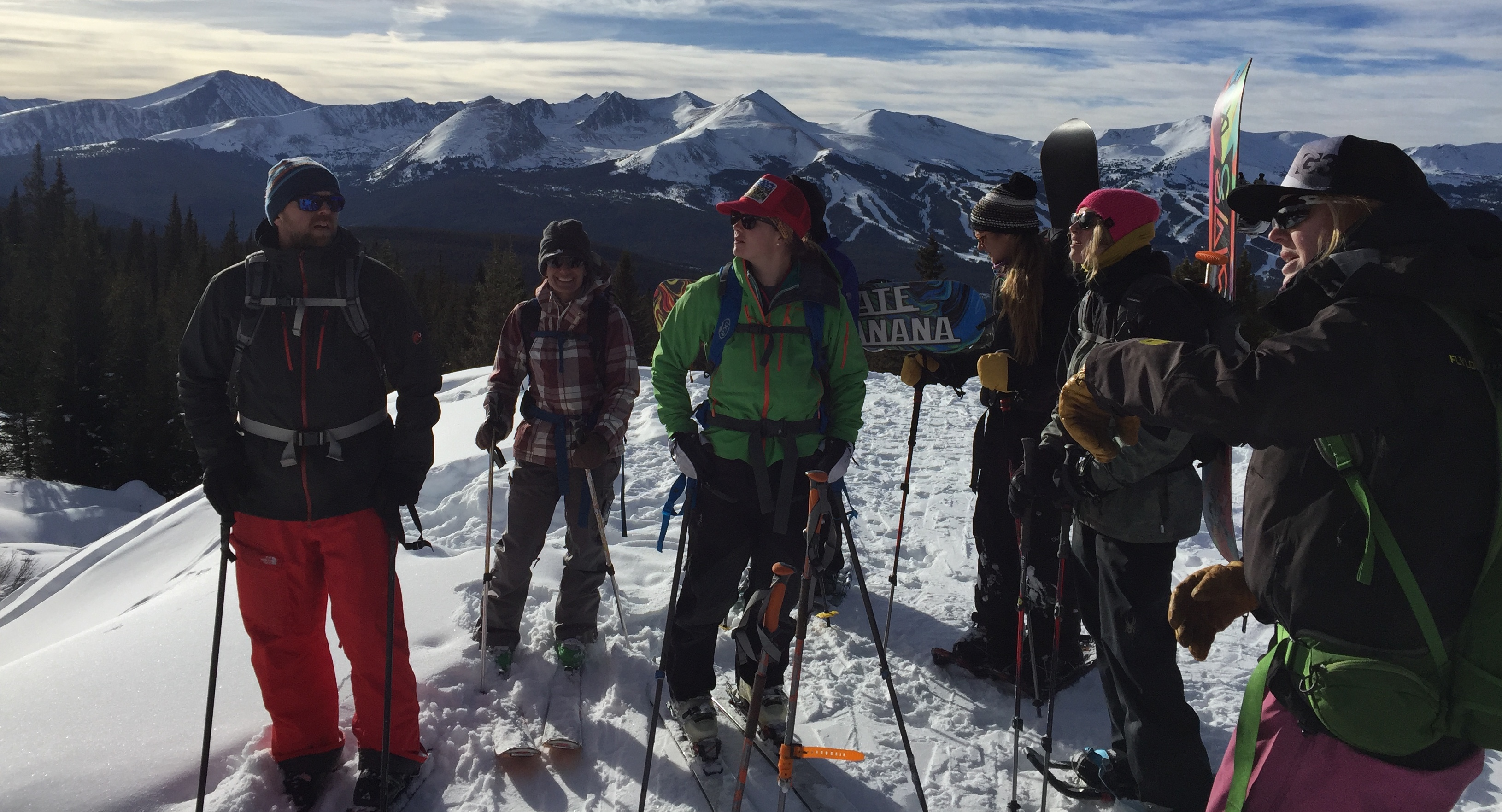 Midweek Aiare Level 1 Course Vail Colorado With Backcountry Babes