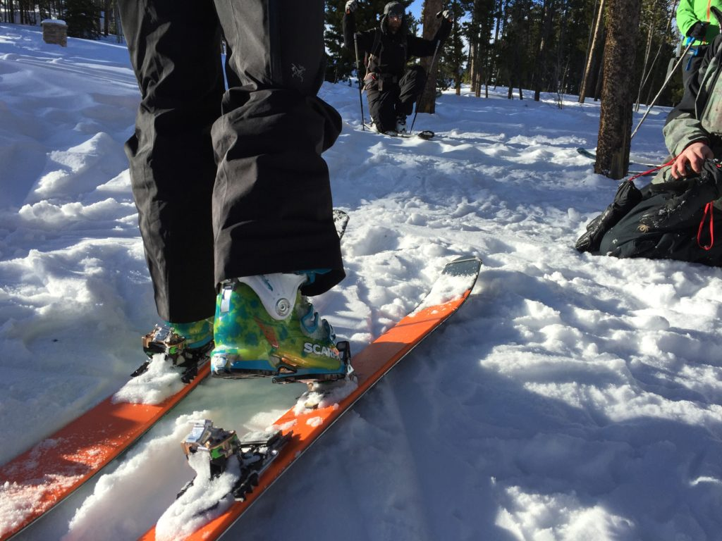 a closer look at backcountry bindings and backcountry boots