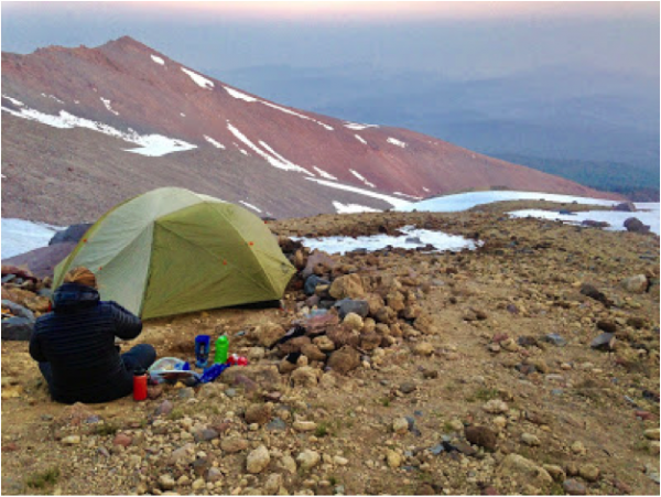 camping on mt shasta