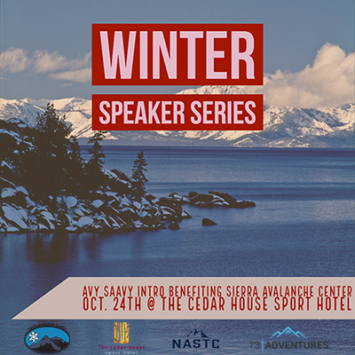 Winter Speaker Series, Hosted by Sierra Avalanche Center