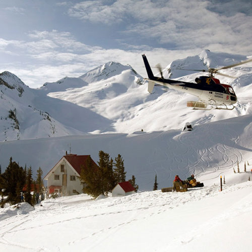 Backcountry Ski Lodge Trip, British Columbia