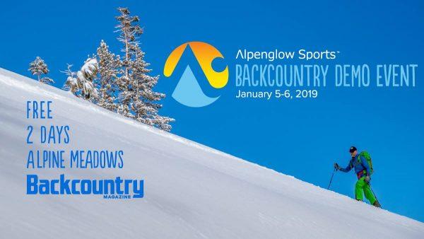 Backcountry demo event