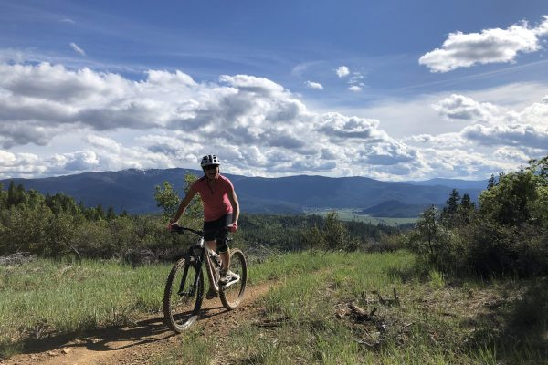 Mountain biking in the High Sierra