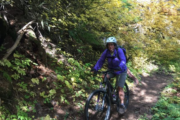 Womens Mountain Biking Trip