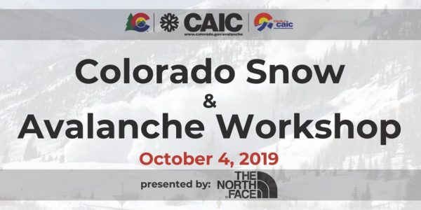 Colorado Snow and Avalanche Workshop