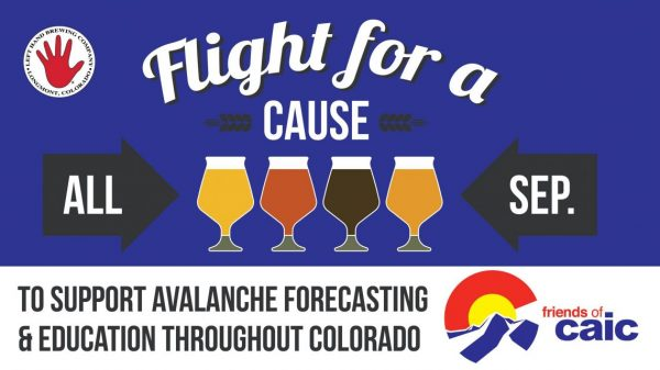 Left hand brewery flight for a cause