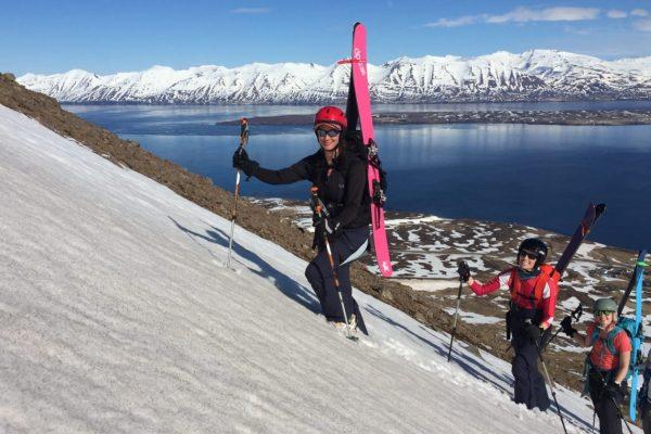 iceland backcountry ski trip for women