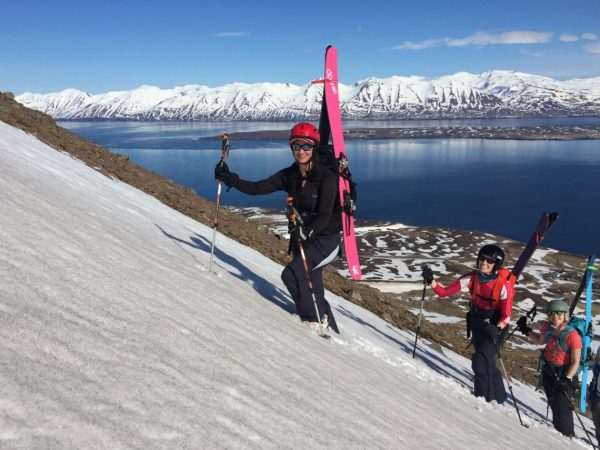 iceland backcountry ski trip for women