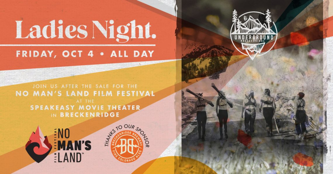 Underground Snowboards Ladies Night Sale & Film Festival