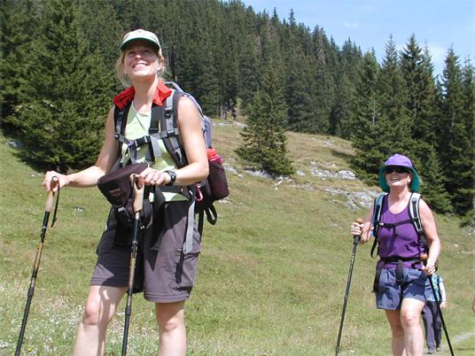 Ladies Trekking Switzerland
