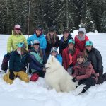Backcountry Babes hats group tour