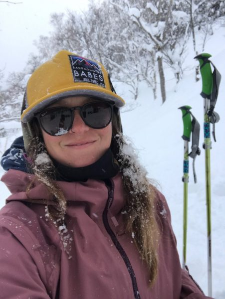 backcountry babes hat yellow