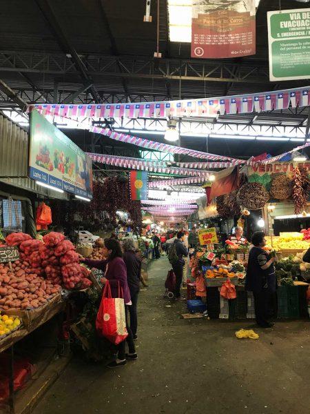 Chileano Market Santiago