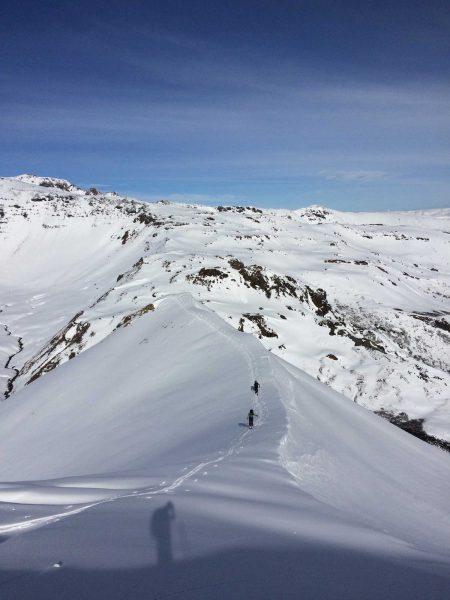 Skiing Nevados de Chillan
