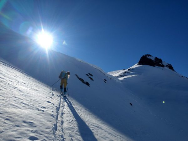 Skinning Nevados de Chillan