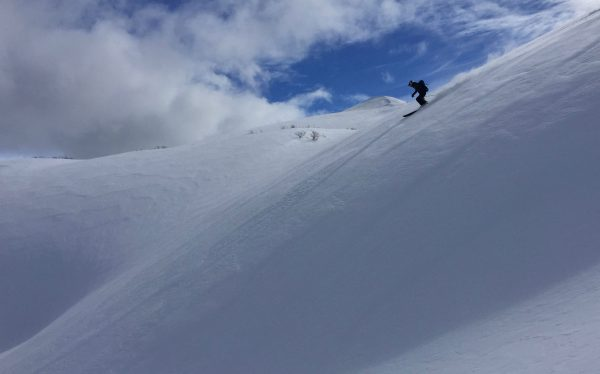 Ski Powder in Chile