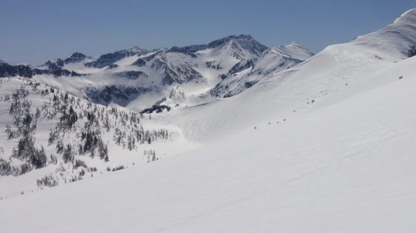 backcountry terrain in Washington