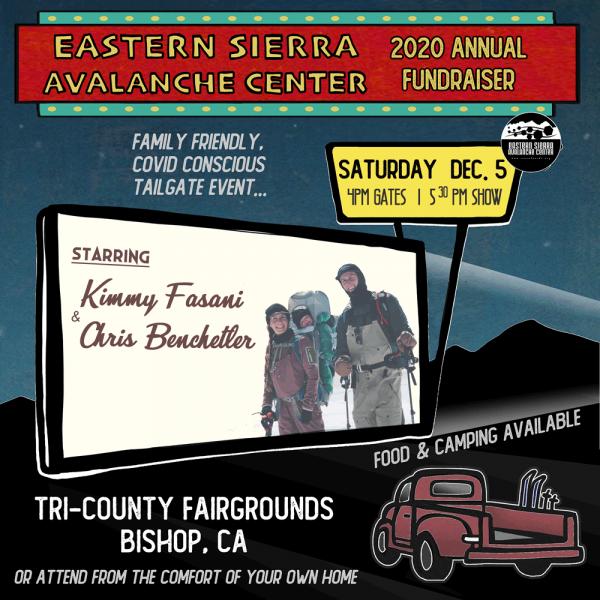 Eastern Sierra Avalanche Center 2020 Annual Fundraiser