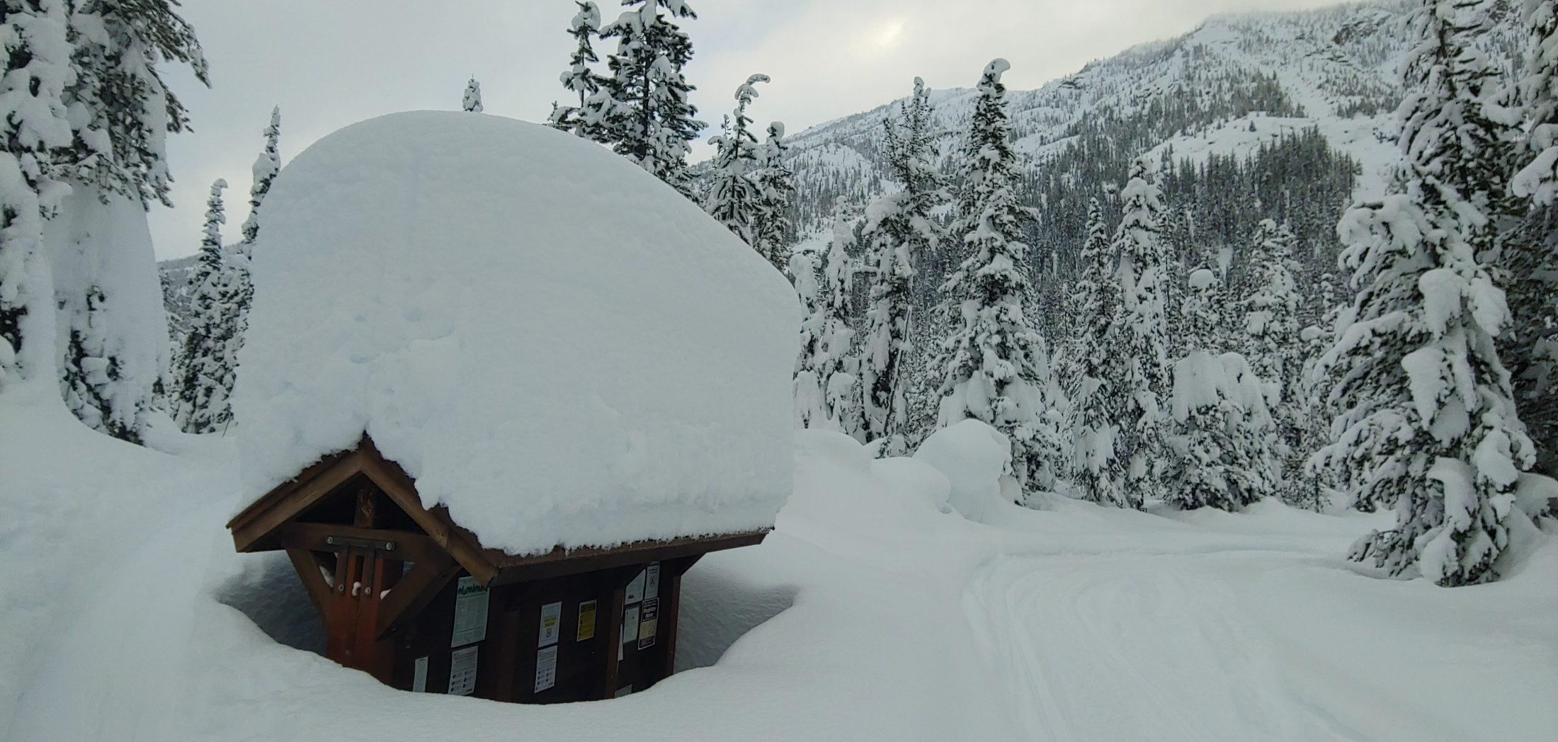 Deep Snow Submersion