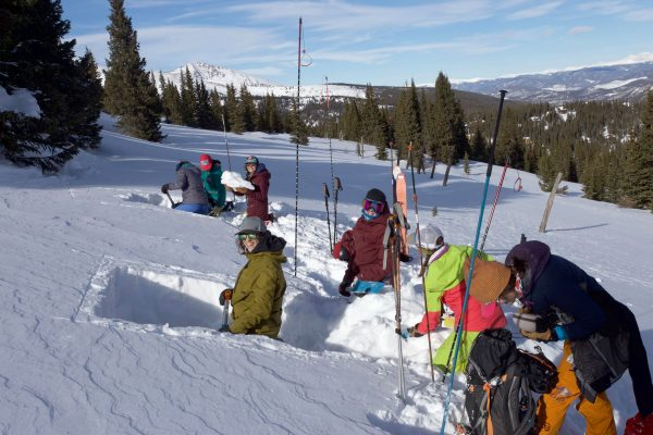 backcountry babes Aiare level 1 in the field