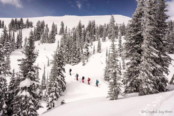ski tour british columbia